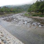 荘川の里堤防上流